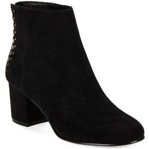 Lord and Taylor 424 Fifth Black Esme Studded boot